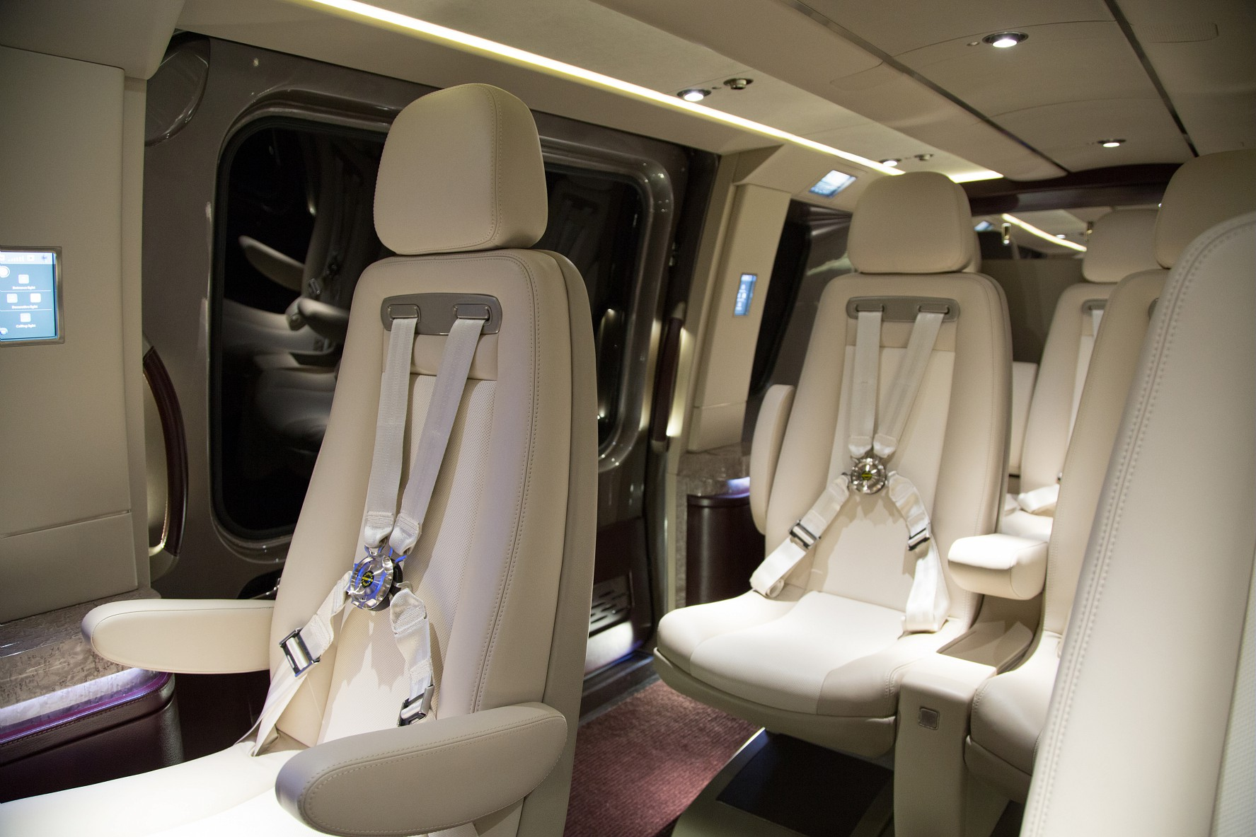 ... special touch of elegance and luxury to the helicopters' interiors