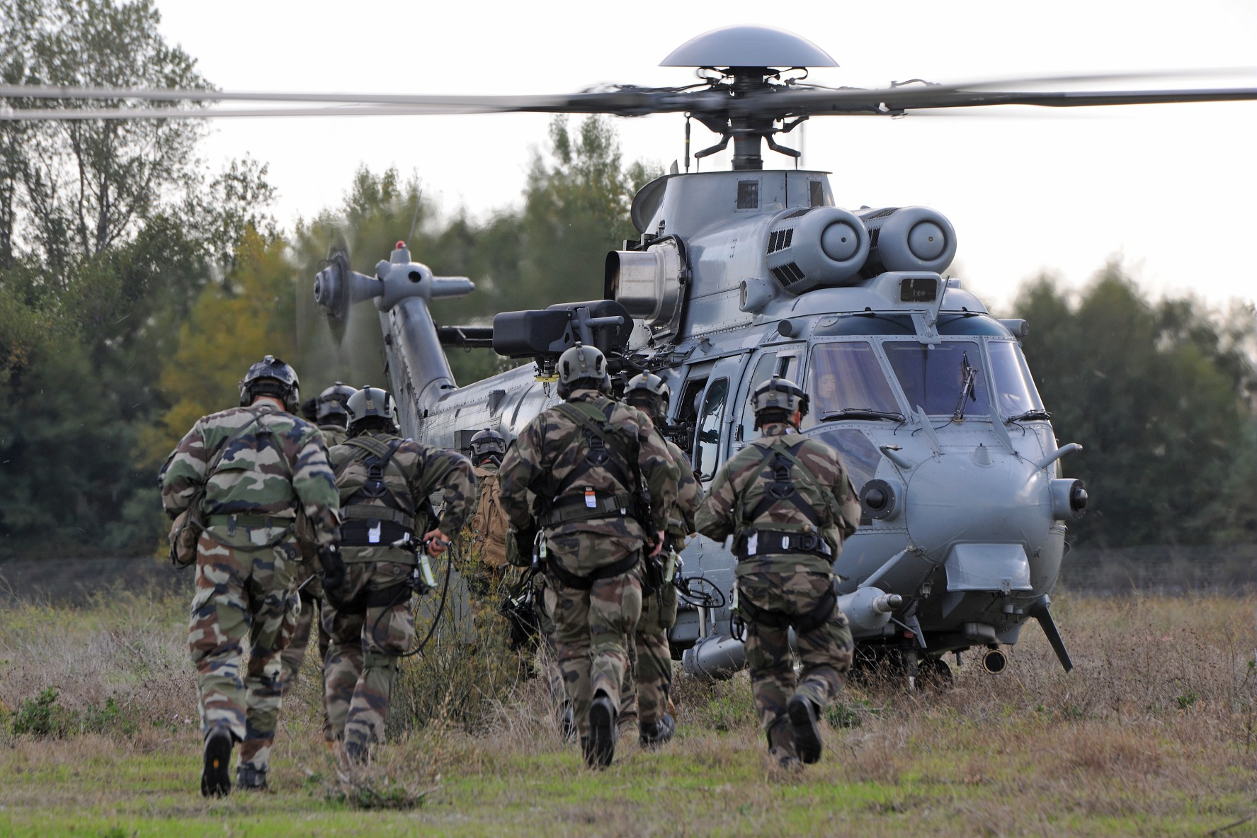 Military Helicopters H225M Heavy Helicopter Airbus