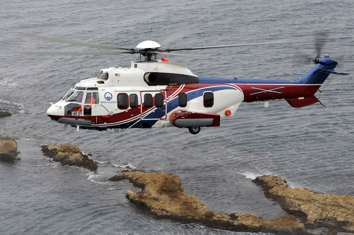 The h225 from airbus helicopters offers true presidential luxury this