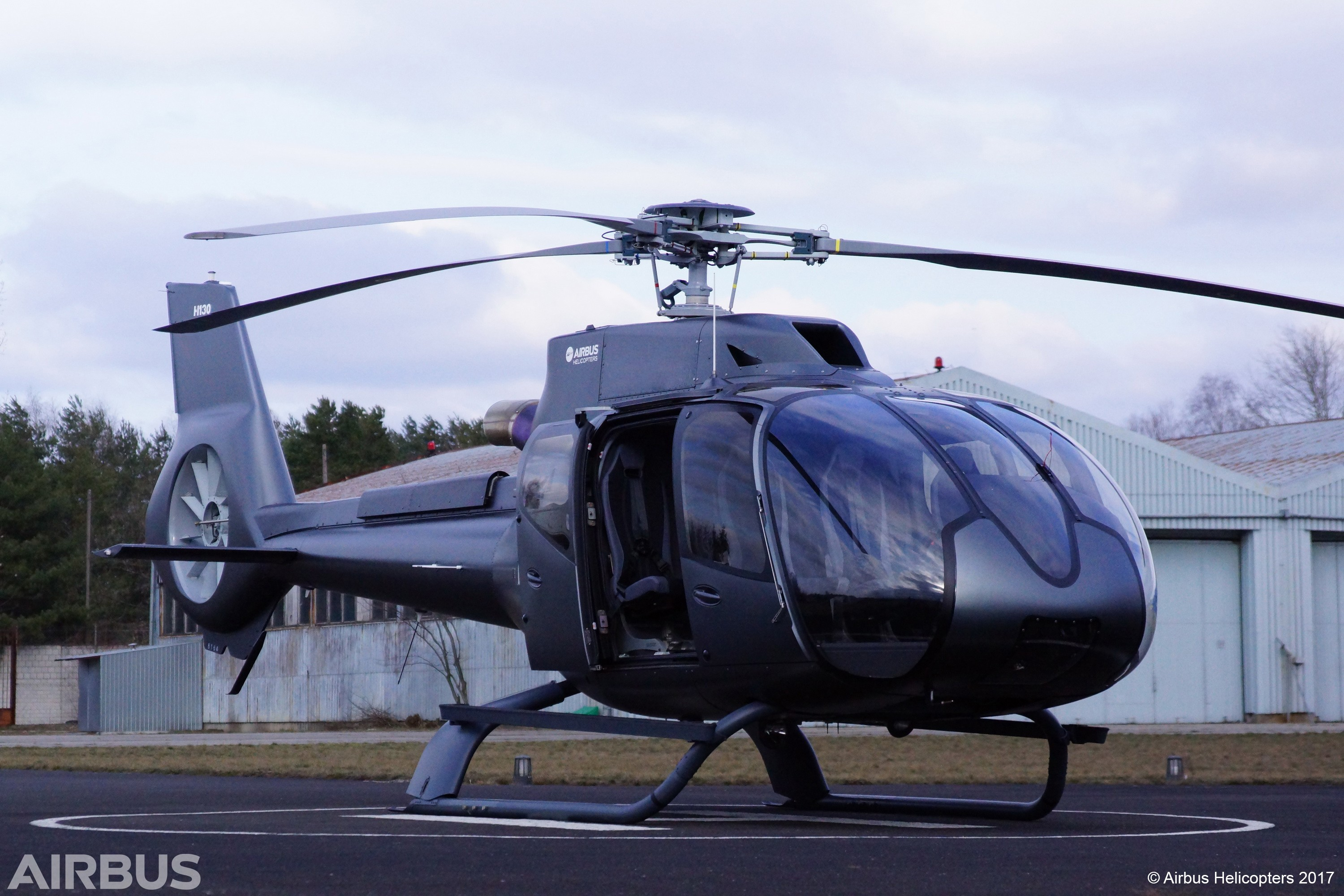 Pre owned helicopter
