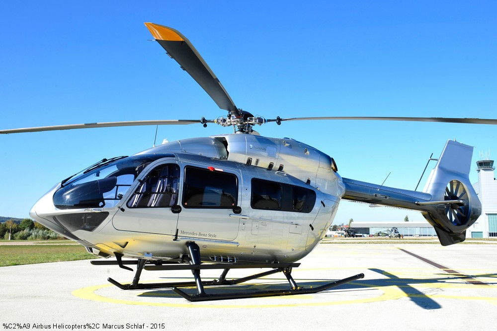 Airbus Helicopters Introduces All New H145 Mercedes Benz Style