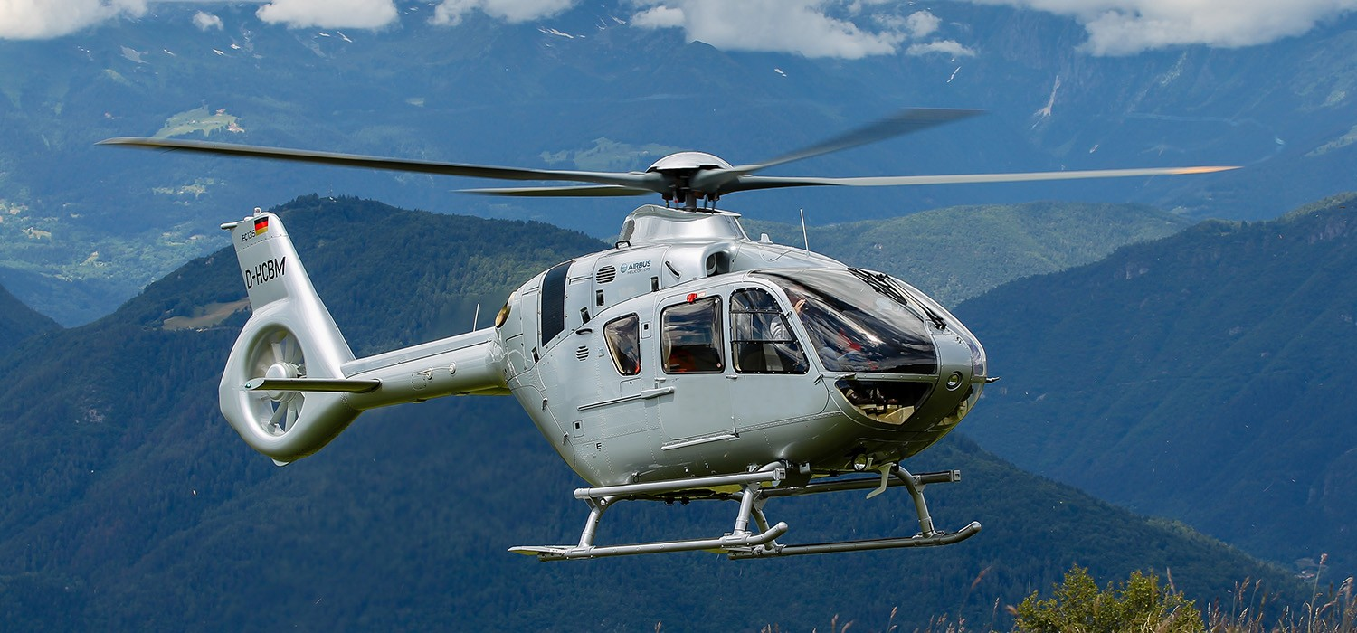 civil helicopter h135 helicopter airbus helicopters