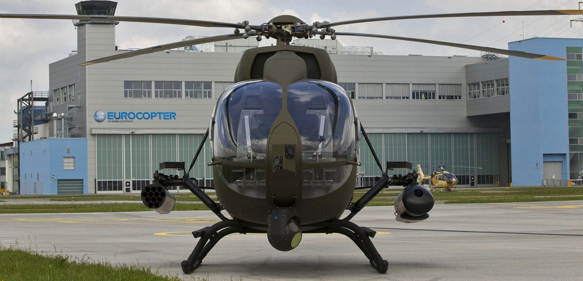 Military Helicopters H145m Light Helicopter Airbus