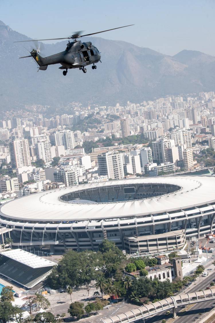 Backstage Pass: A police chief's aerial view of Rio 2016